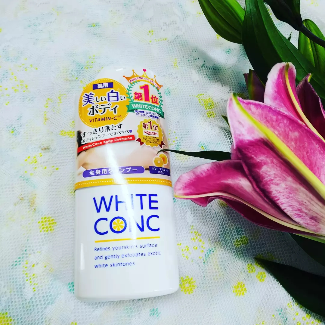 white conc(ホワイトコンク) 薬用ホワイトコンク ボディシャンプーC IIの良い点・メリットに関するティンカーベル0908さんの口コミ画像1