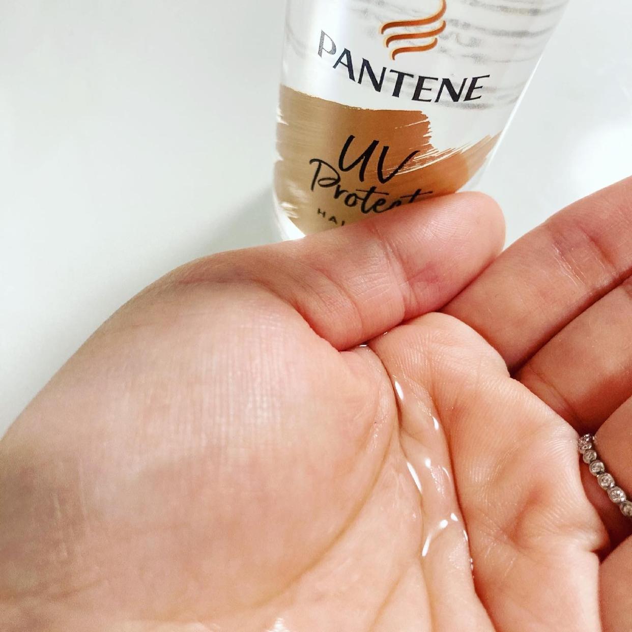 PANTENE(パンテーン) UVカット ヘアオイルを使ったmemiさんのクチコミ画像3