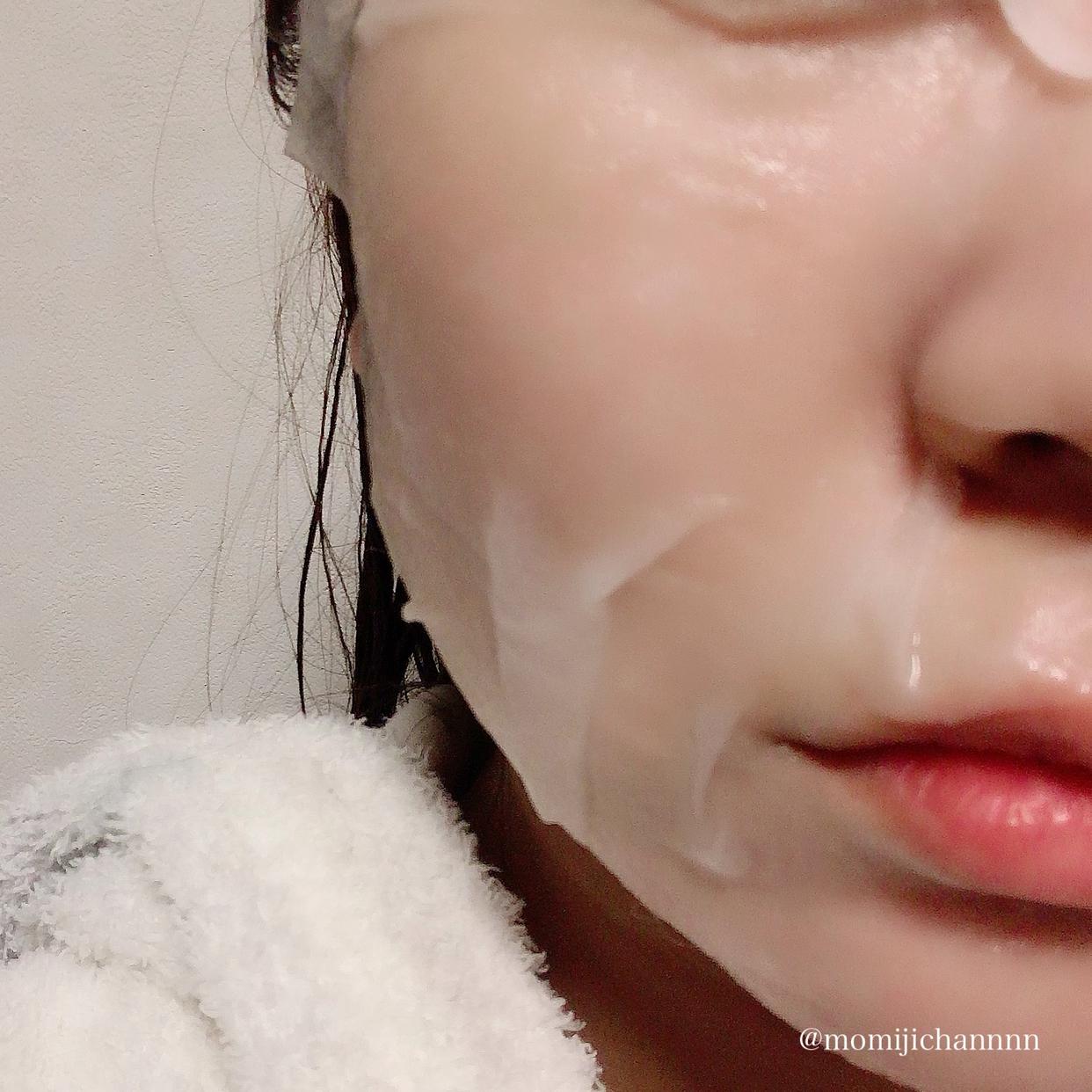 BARULAB(バルラボ) ザ クリーン ビーガン シカ マスクを使った紅葉ちゃんさんのクチコミ画像2