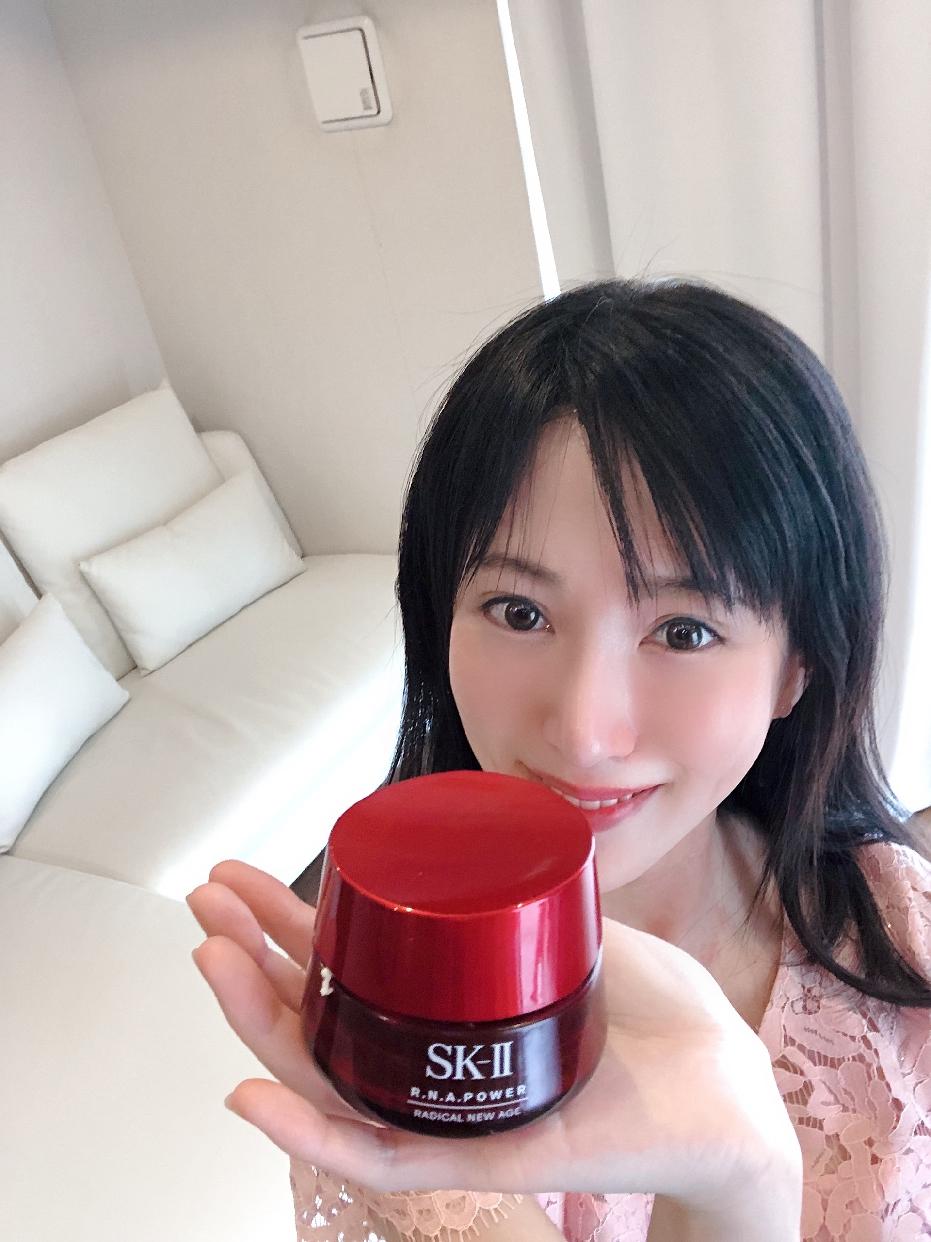 SK-II(エスケーツー) R.N.A.パワーラディカルニューエイジエアリーミルキーローションを使った後藤 愛歩さんのクチコミ画像2