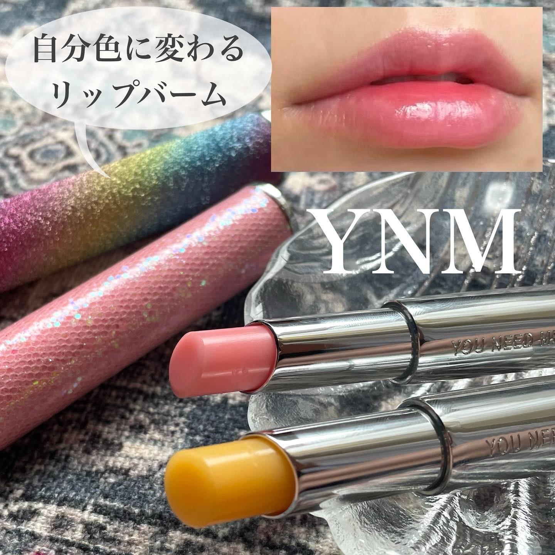 YNM(ワイエヌエム)キャンディーハニーリップバームを使ったけいさんのクチコミ画像1