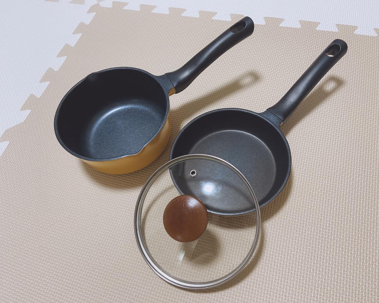 パール金属(PEARL)イージークック ブルーダイヤモンドコートミニソースパン HB-4504を使ったfumikaさんのクチコミ画像1