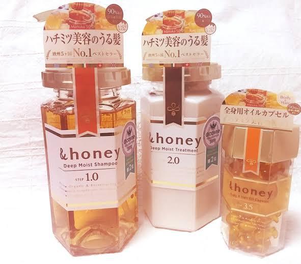 &honey(アンドハニー) ディープモイスト シャンプー1.0を使ったサクラコスメさんのクチコミ画像1