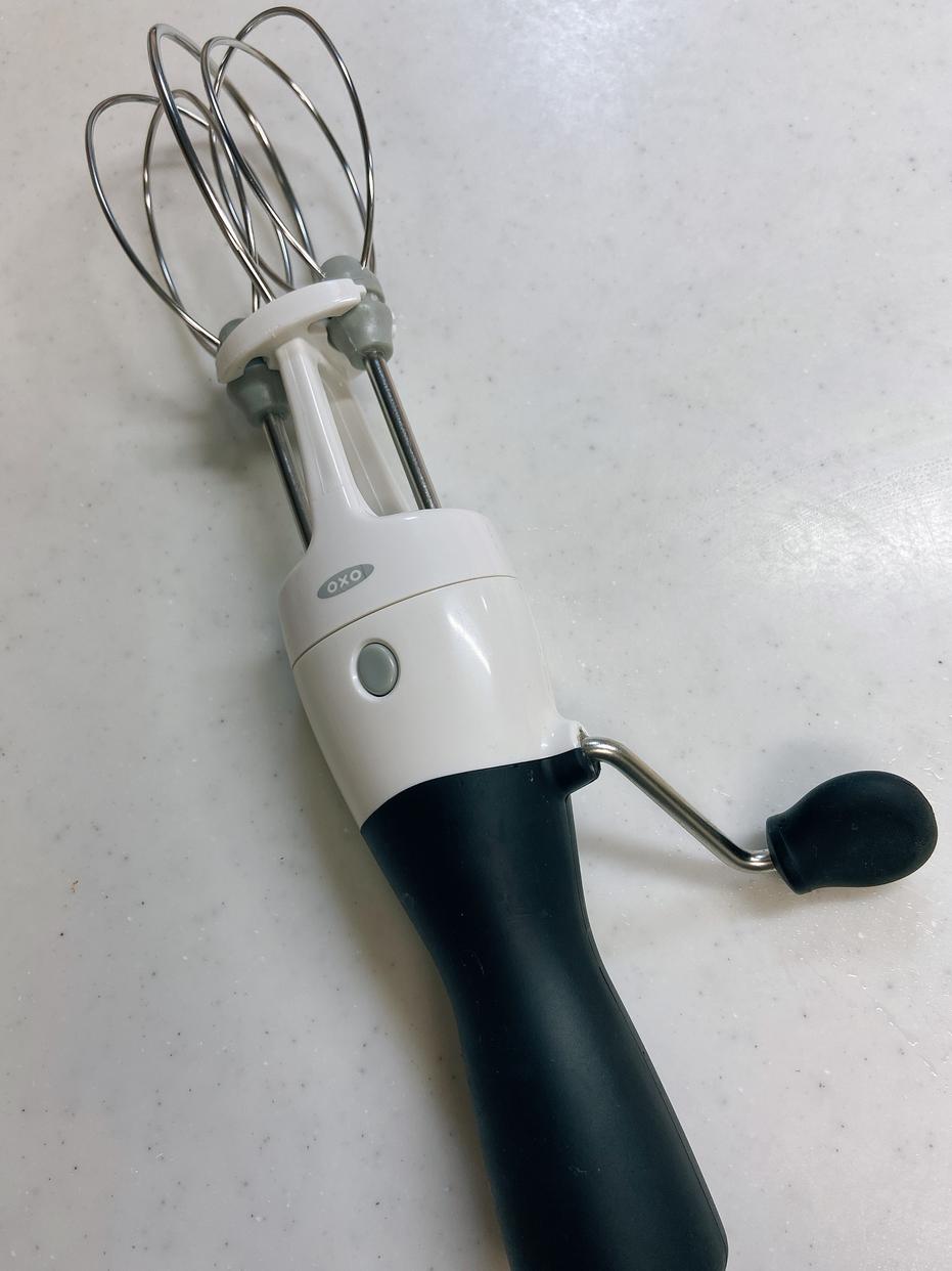 OXO(オクソー)エッグビーター 1126980 ブラックを使ったけーとさんのクチコミ画像2