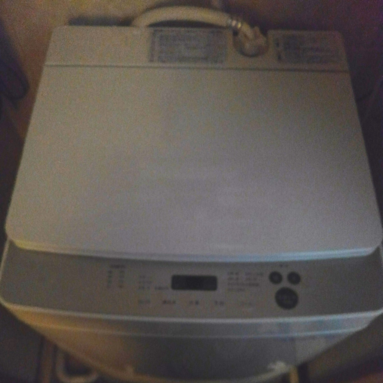 TWINBIRD(ツインバード)全自動洗濯機 KWM-EC55Wを使ったバドママ*さんのクチコミ画像1