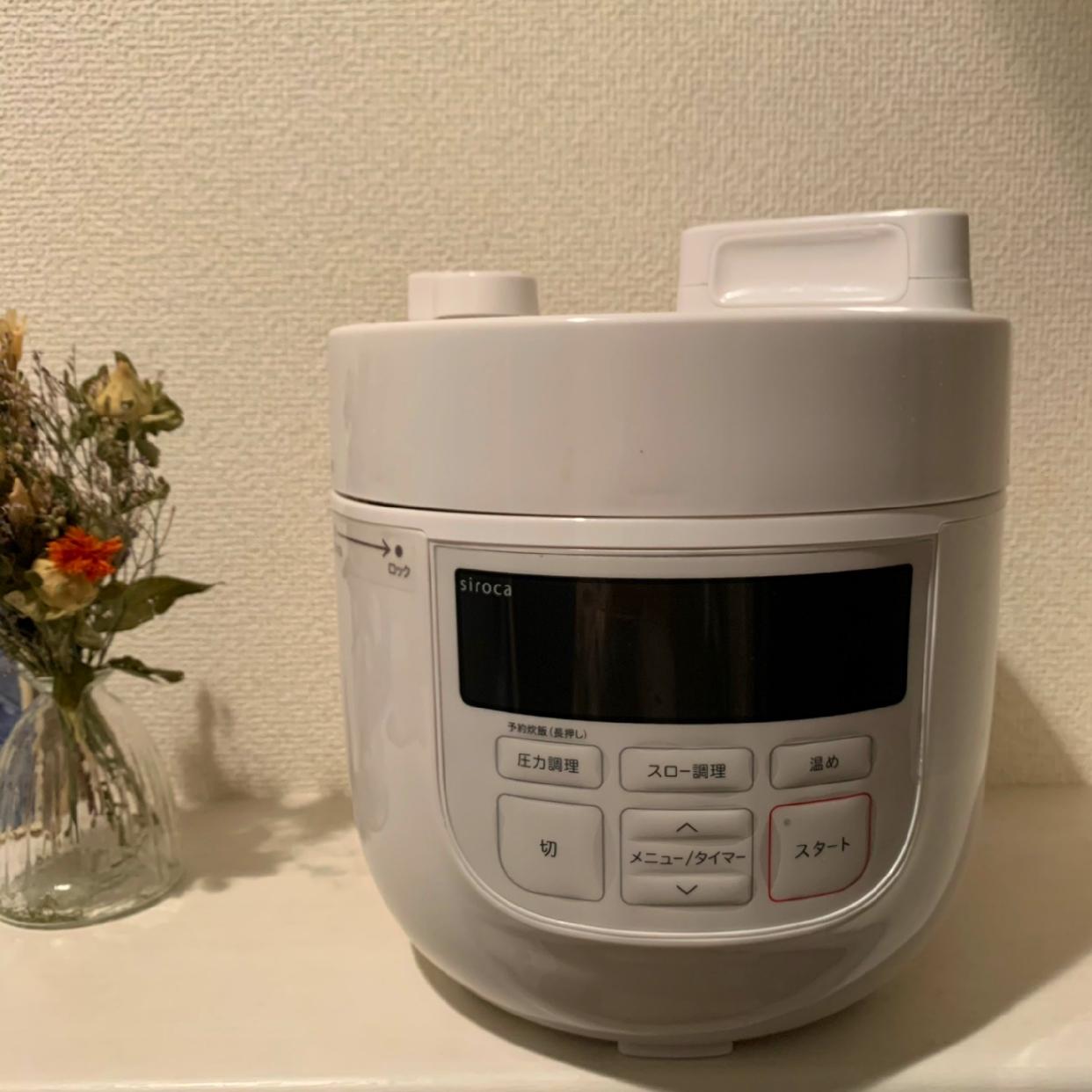 siroca(シロカ)電気圧力鍋 SP-4D151を使ったakaneさんのクチコミ画像1