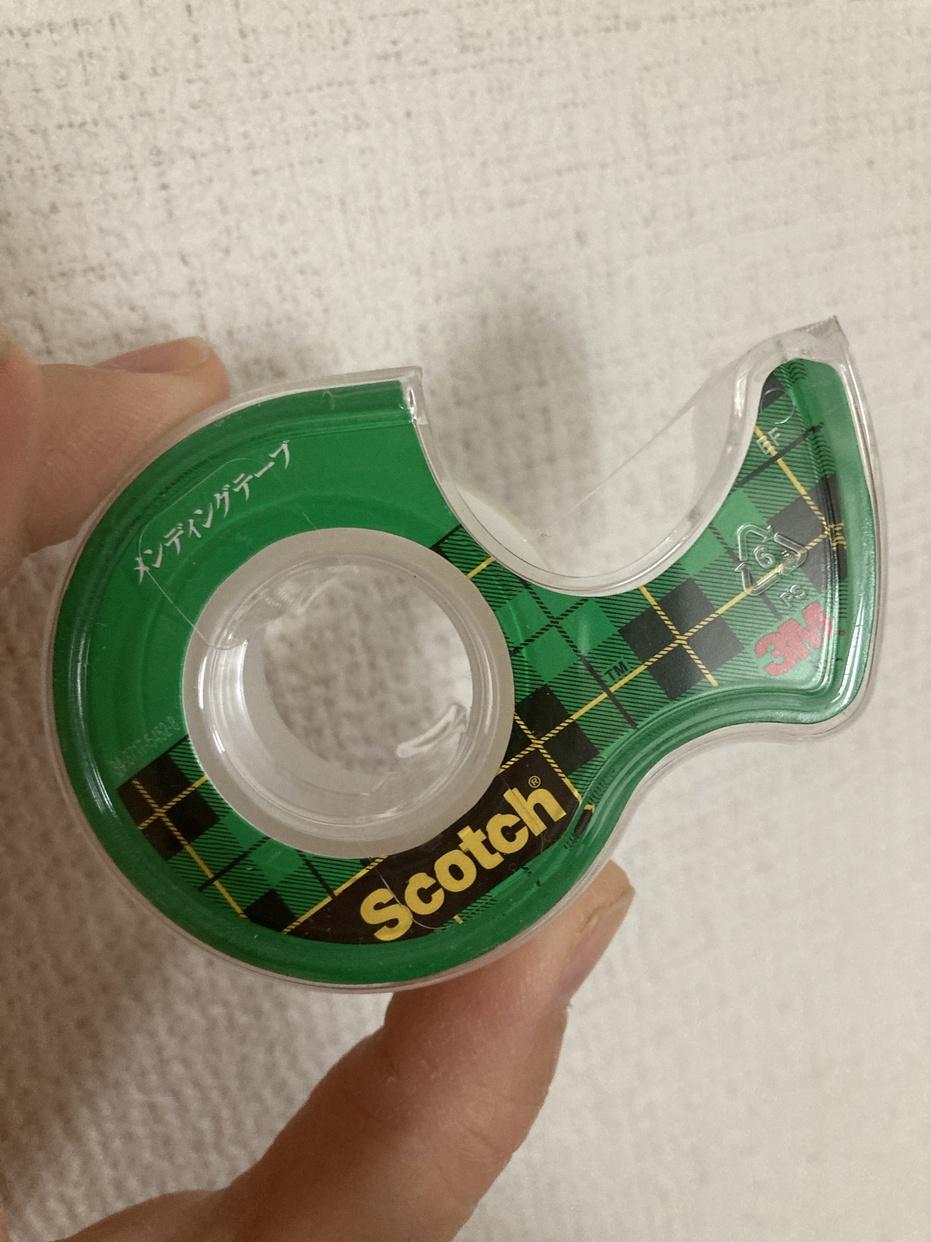 3M(スリーエム) スコッチ メンディングテープの良い点・メリットに関するふたばさんの口コミ画像1