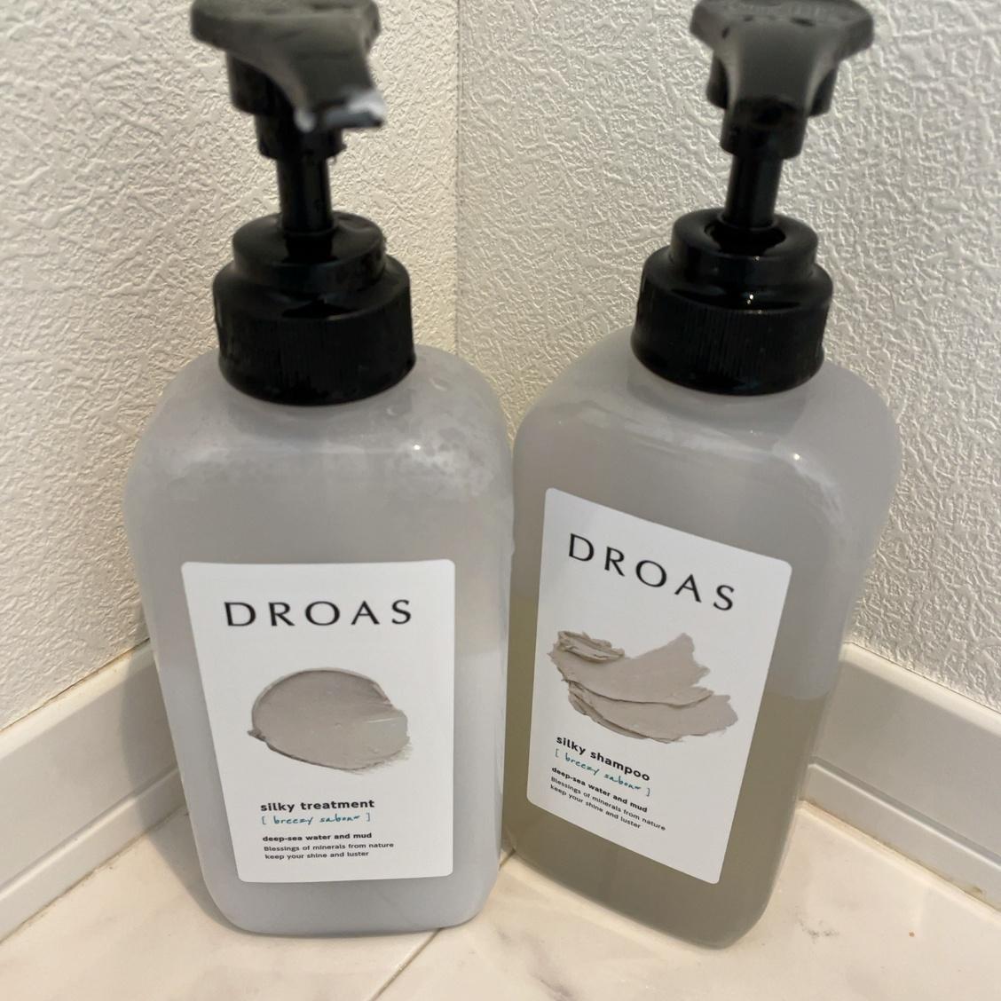 DROAS(ドロアス)シルキーシャンプー・シルキートリートメントを使ったくまちんさんのクチコミ画像