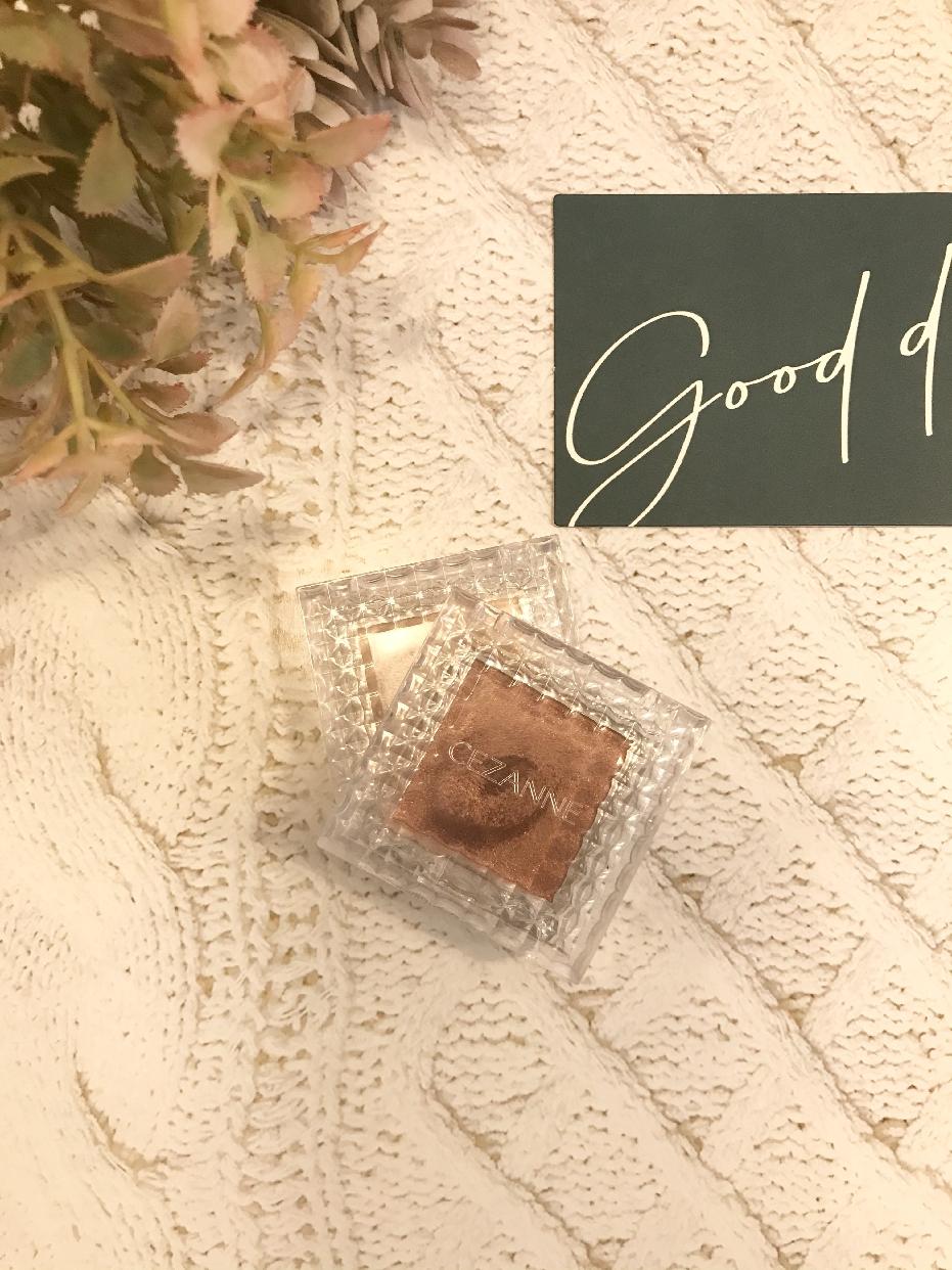 CEZANNE(セザンヌ)シングルカラーアイシャドウを使った             kokiさんのクチコミ画像