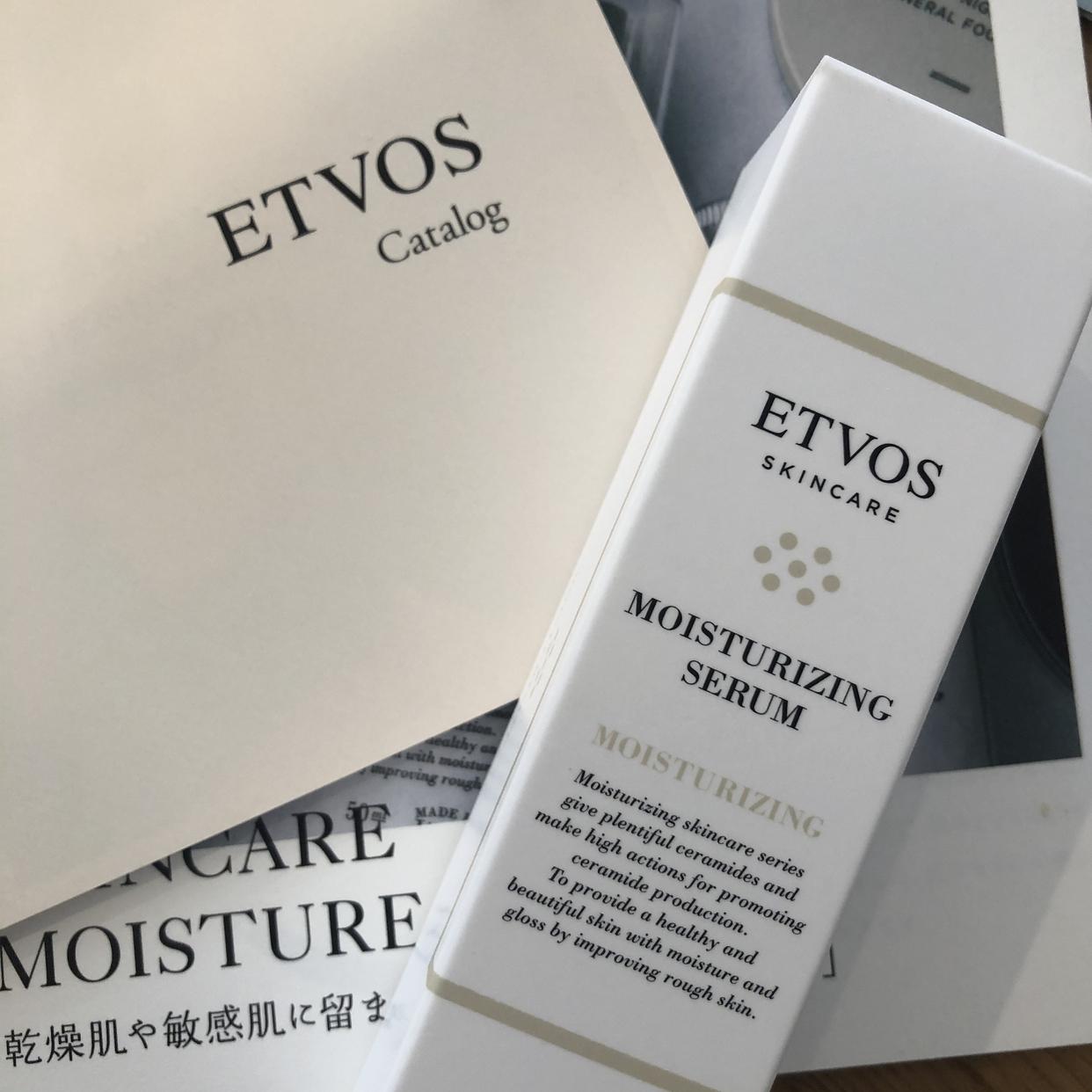 ETVOS(エトヴォス) モイスチャライジングセラムを使ったsesatoさんのクチコミ画像2