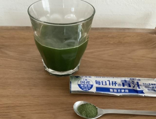 伊藤園(イトウエン)毎日1杯の青汁 糖類不使用を使ったTomokoさんのクチコミ画像1