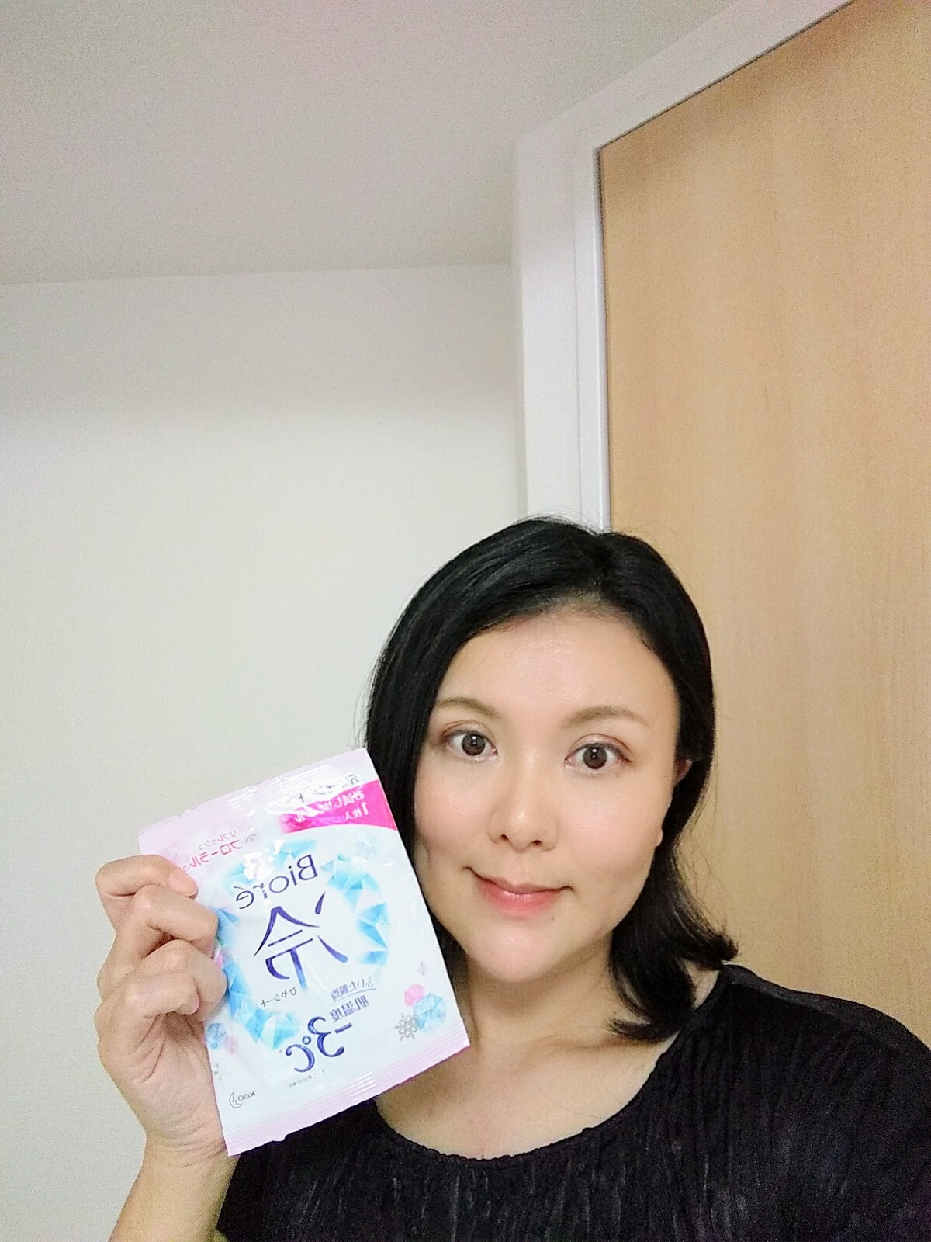Biore(ビオレ)冷シートを使った 佐藤 暁子さんのクチコミ画像