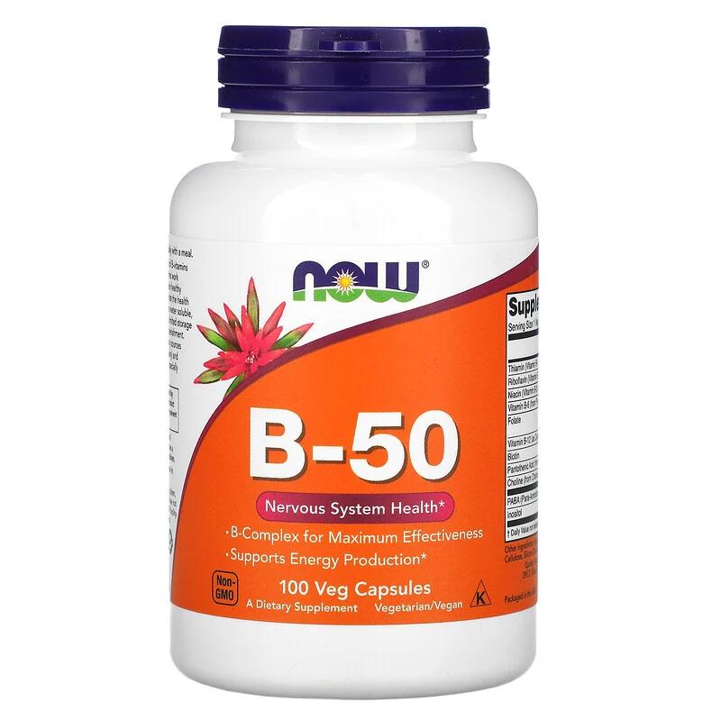 NOW Foods(ナウフーズ) ビタミンB-50を使ったritaさんのクチコミ画像1