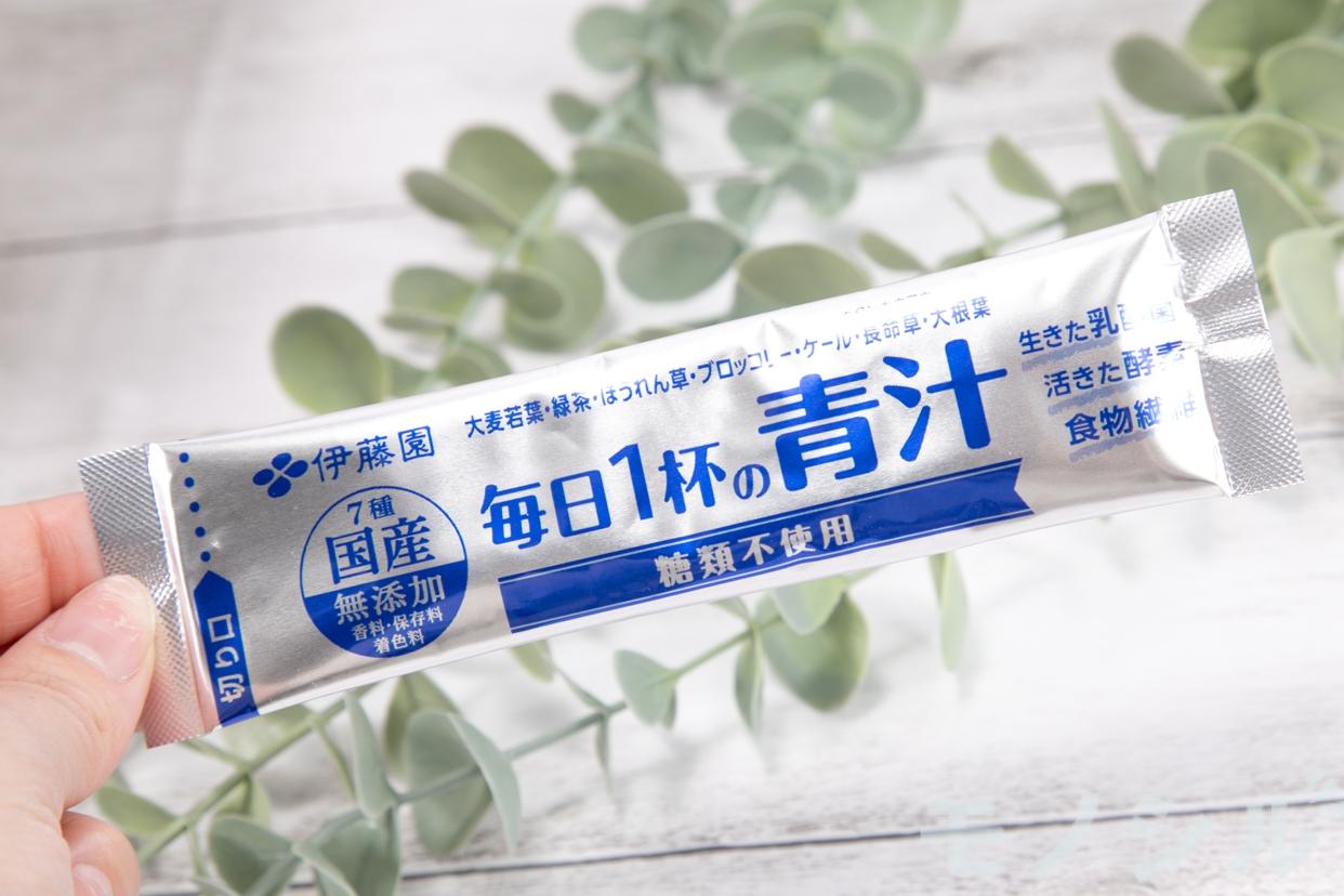 伊藤園(イトウエン)毎日1杯の青汁 糖類不使用を使ったhanaさんのクチコミ画像1