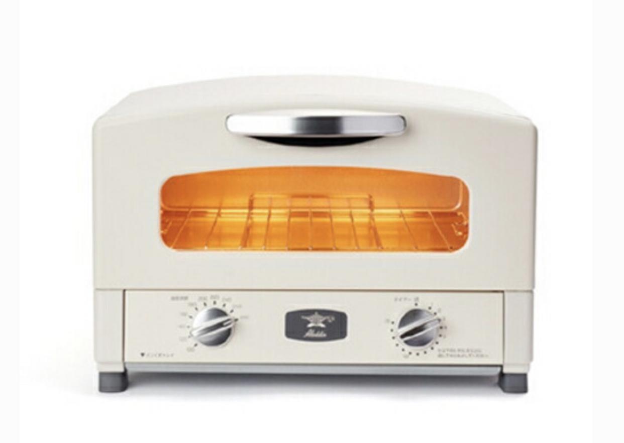 Aladdin(アラジン)新グラファイトトースター(2枚焼き)AET-GS13B/CAT-GS13Bを使った tananaさんの口コミ画像1
