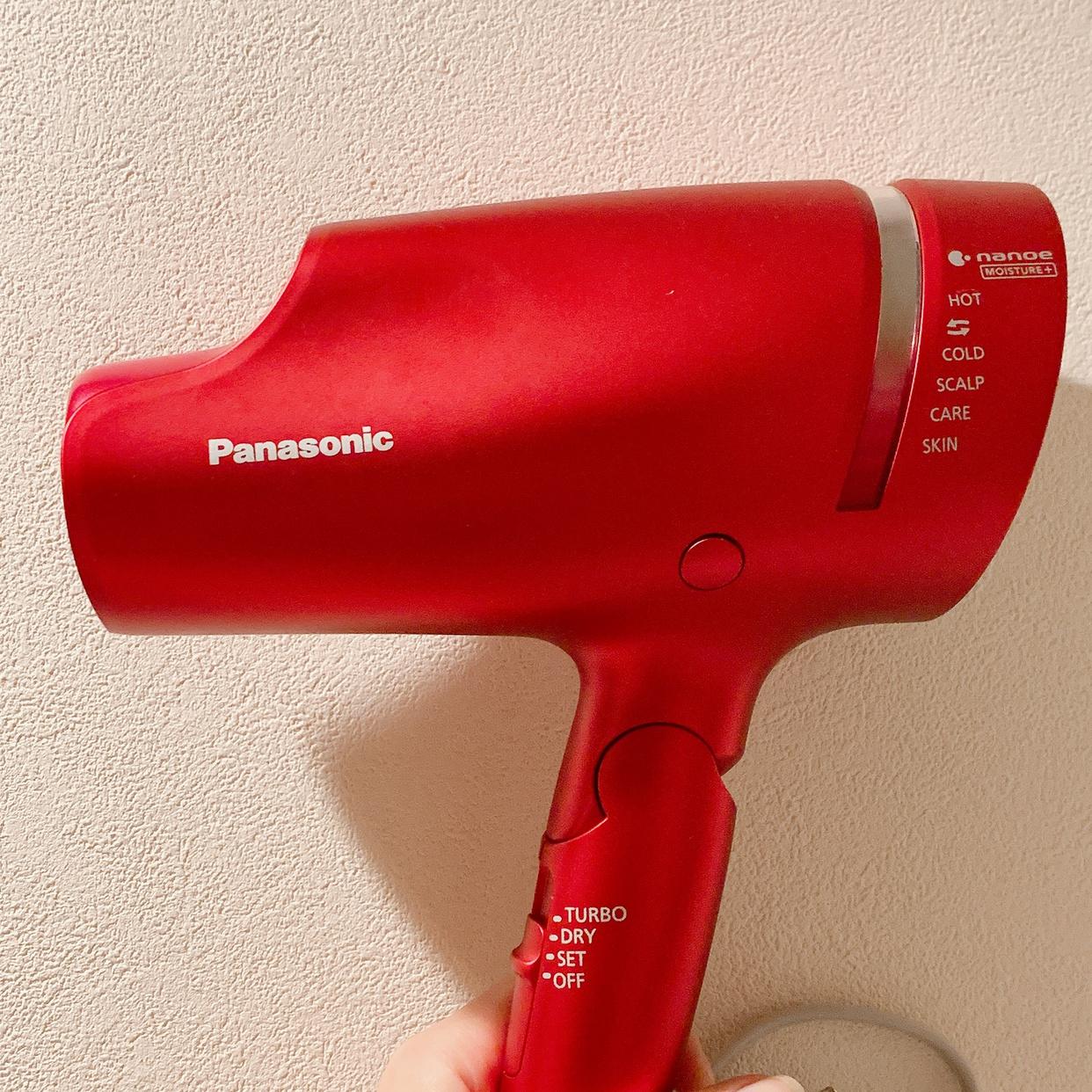 Panasonic(パナソニック)ヘアー ドライヤー ナノケア EH-NA99を使ったひかりさんのクチコミ画像1