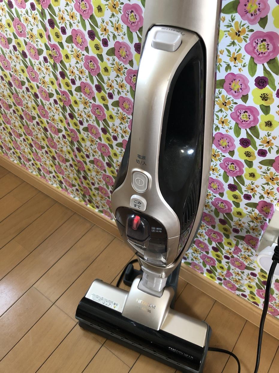 日立(HITACHI)スティッククリーナー(コードレス式) PV-B200Gを使ったあおさんのクチコミ画像2