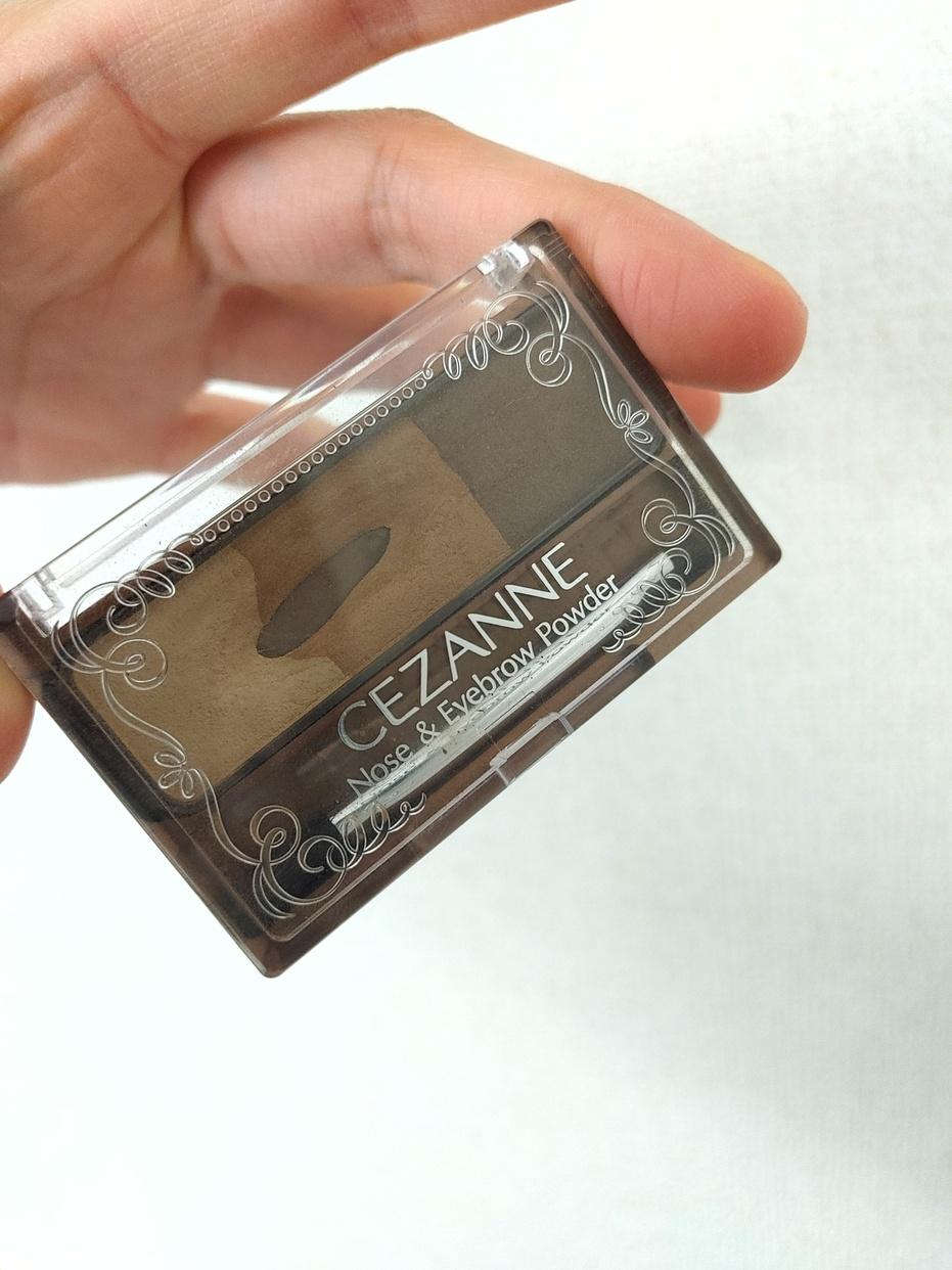 CEZANNE(セザンヌ)ノーズ&アイブロウパウダーを使ったひとみさんさんのクチコミ画像1
