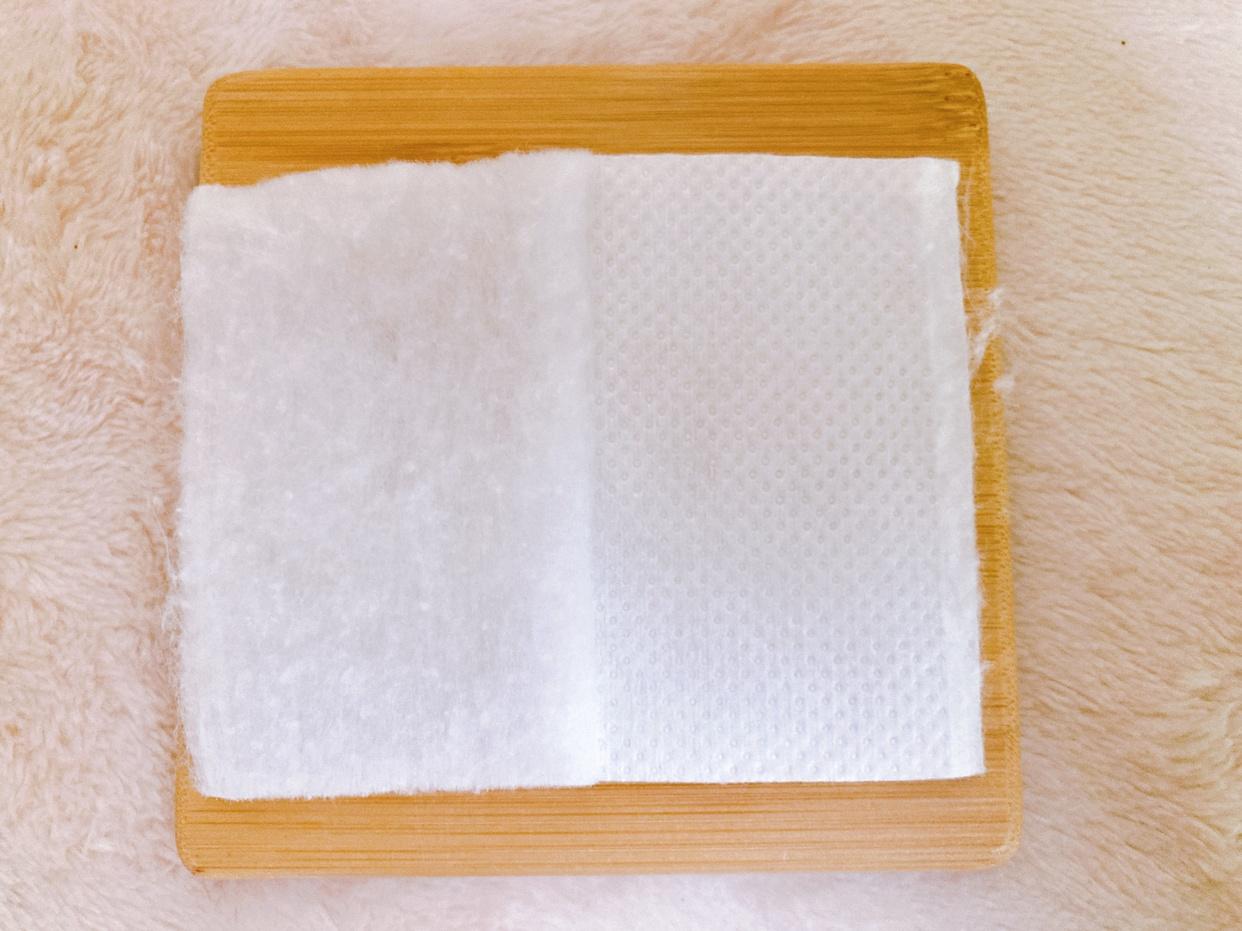 Cotton labo(コットン・ラボ)じんわりあふれるコラーゲンコットンを使ったメグさんのクチコミ画像3