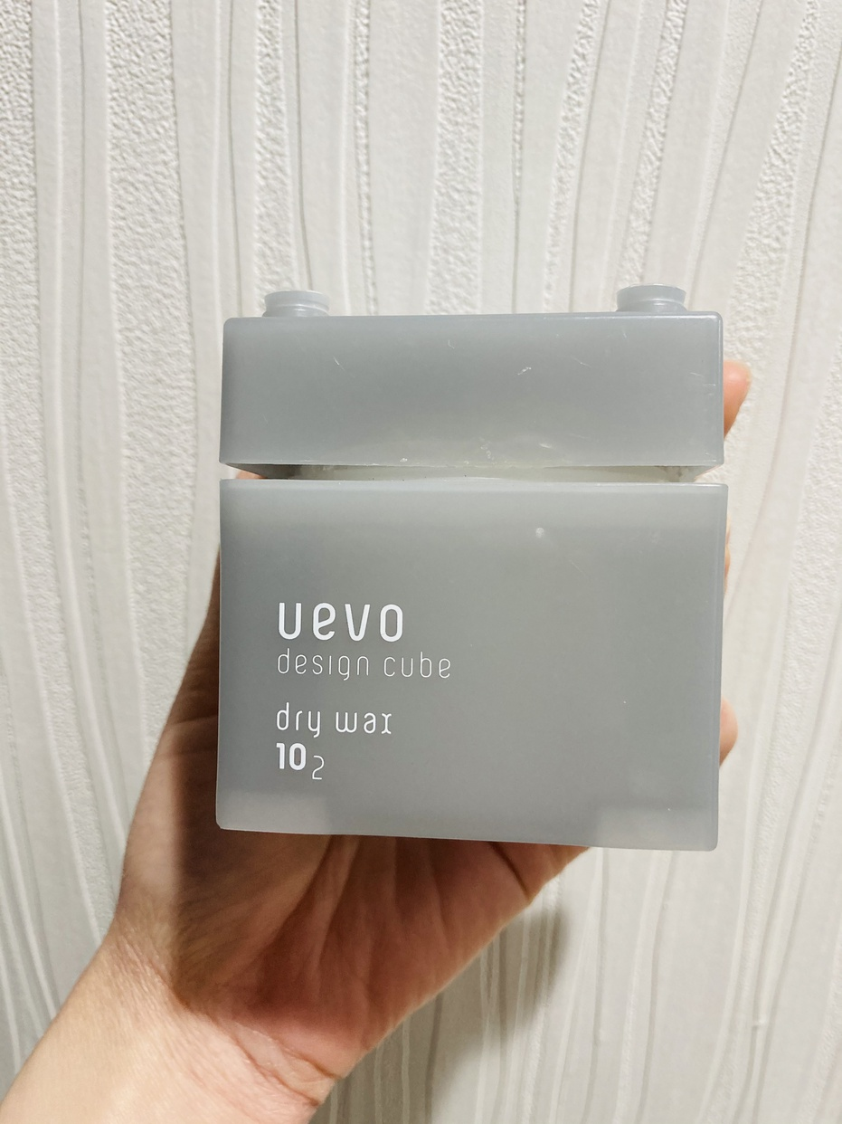 uevo(ウェーボ) デザインキューブ ドライワックスを使ったとまとさんのクチコミ画像1