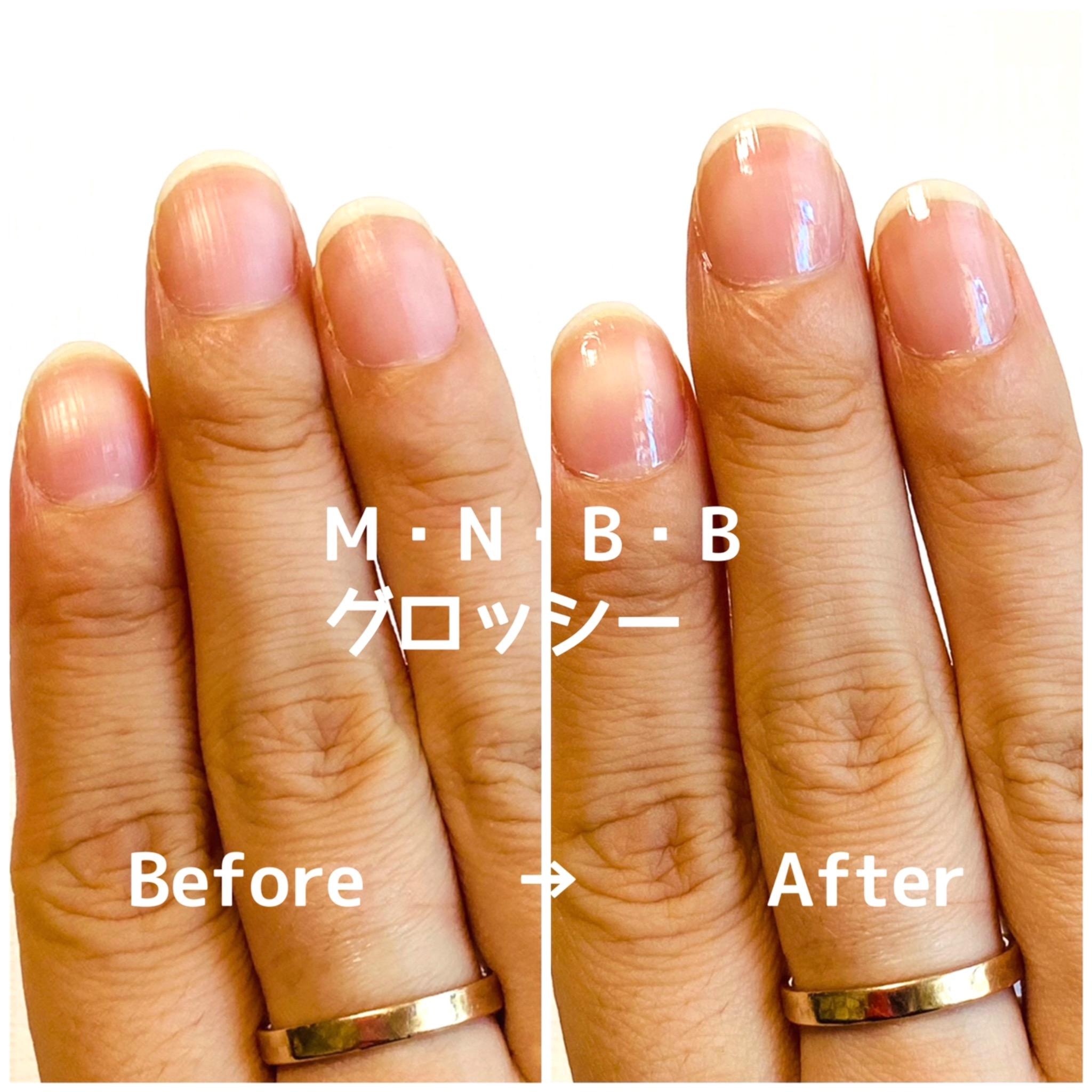 M・N・B・B(エム・エヌ・ビー・ビー)パーフェクトネイルコートを使ったminoriさんのクチコミ画像4