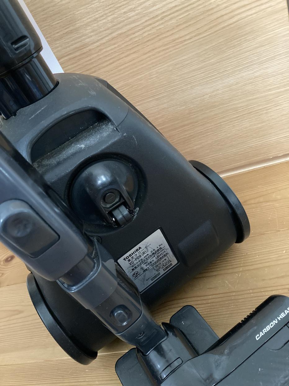 東芝(TOSHIBA)紙パック式クリーナー VC-PJ9を使ったふたばさんのクチコミ画像1