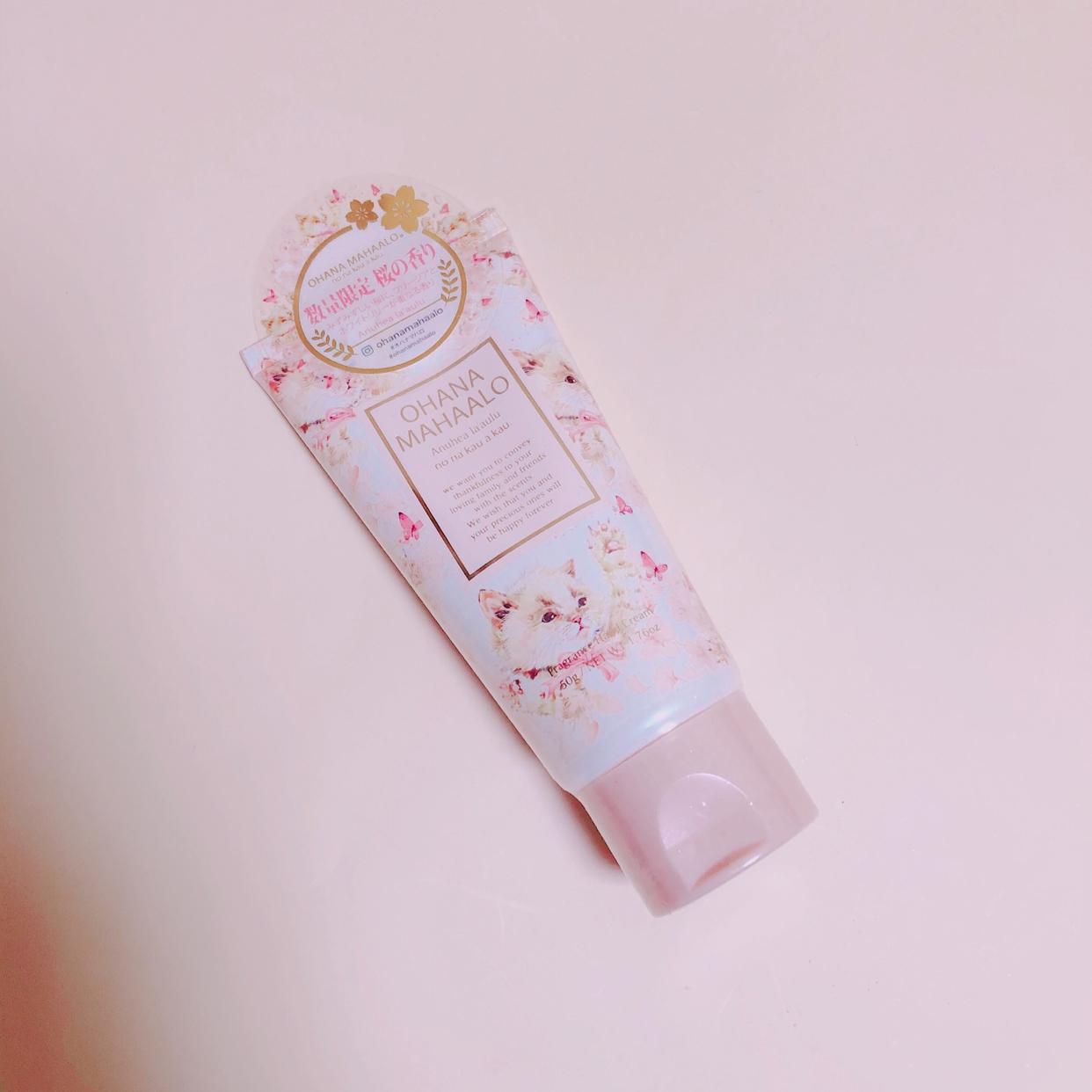 OHANA MAHAALO(オハナ・マハロ) フレグランスハンドクリームを使ったさかいさんのクチコミ画像1