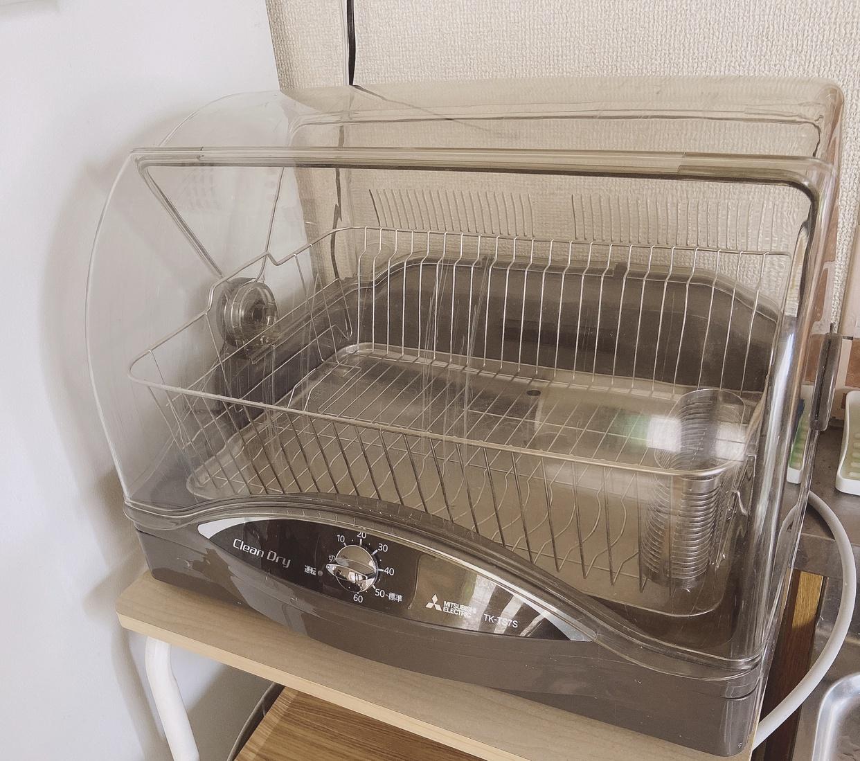 三菱電機(MITSUBISHI ELECTRIC)キッチンドライヤー TK-TS7Sを使ったfumikaさんのクチコミ画像1