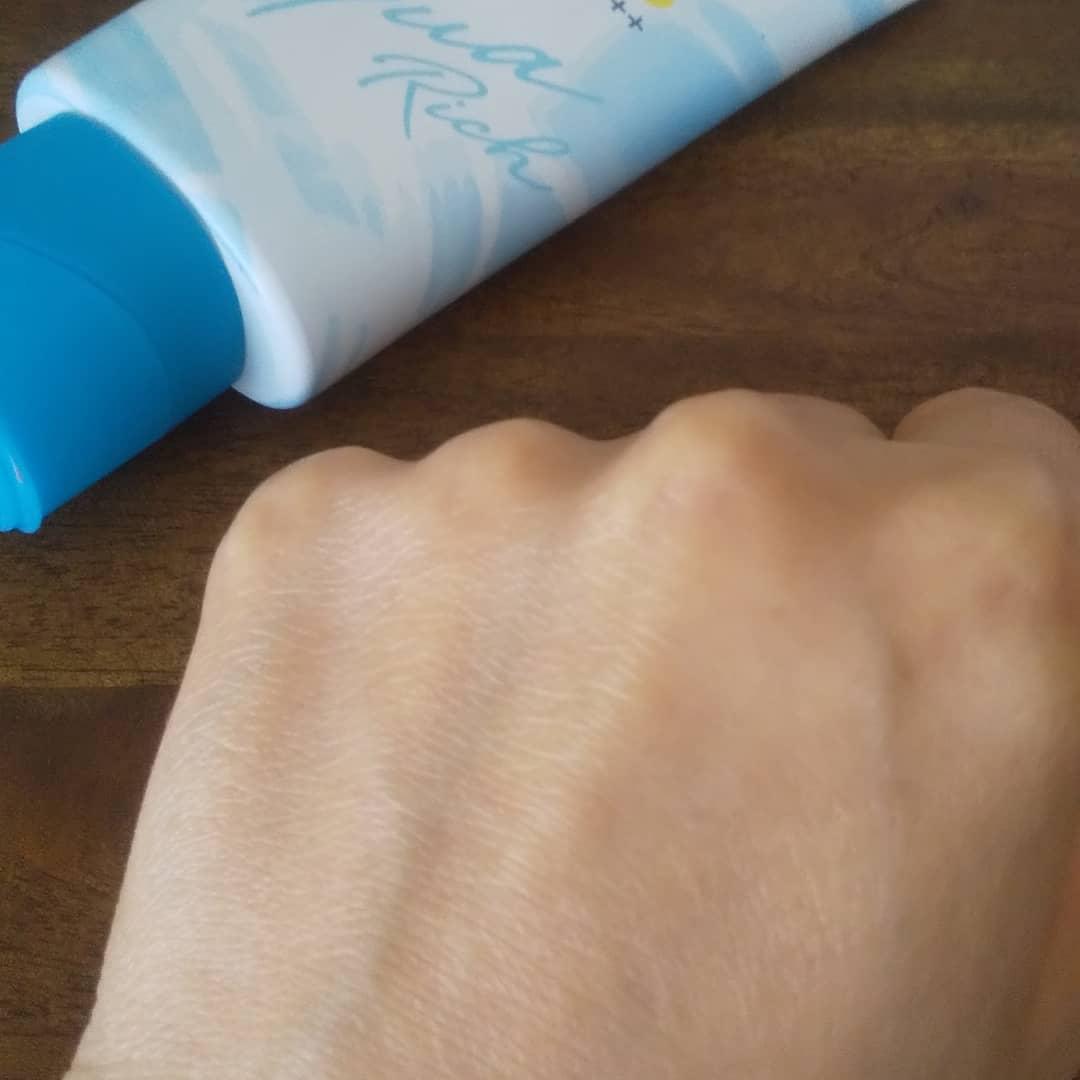 Bioré(ビオレ) UV アクアリッチ ライトアップエッセンスを使ったすずにゃん子さんのクチコミ画像2