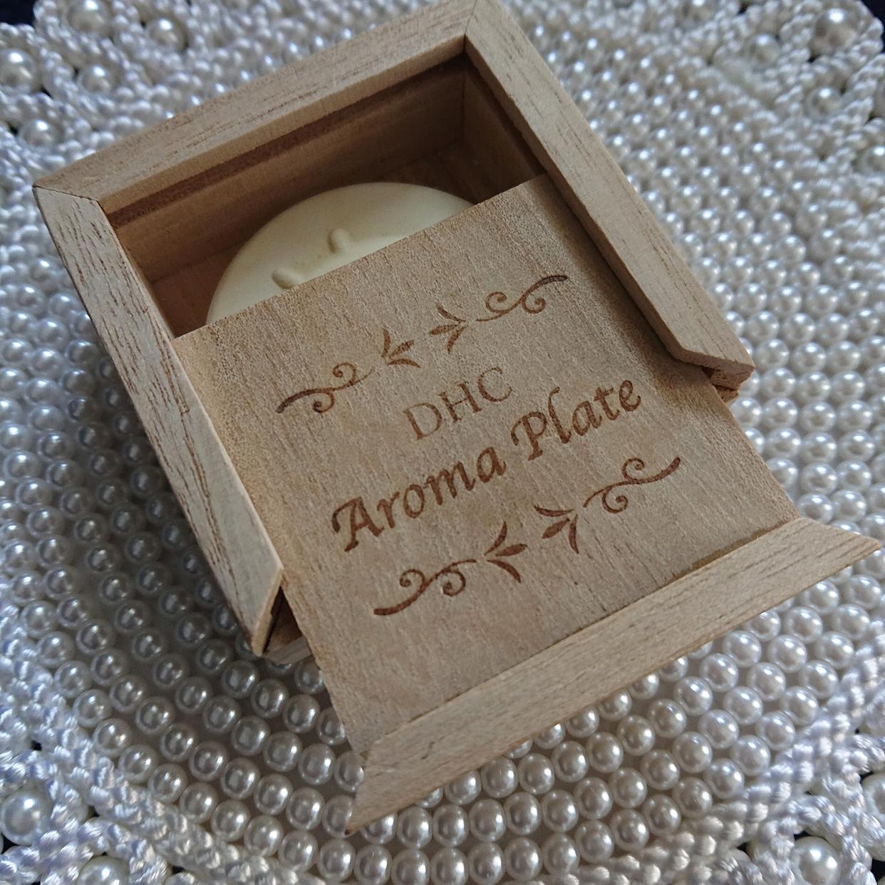 DHC(ディーエイチシー) アロマ プレート (素焼き) ローズを使ったにるさんのクチコミ画像1