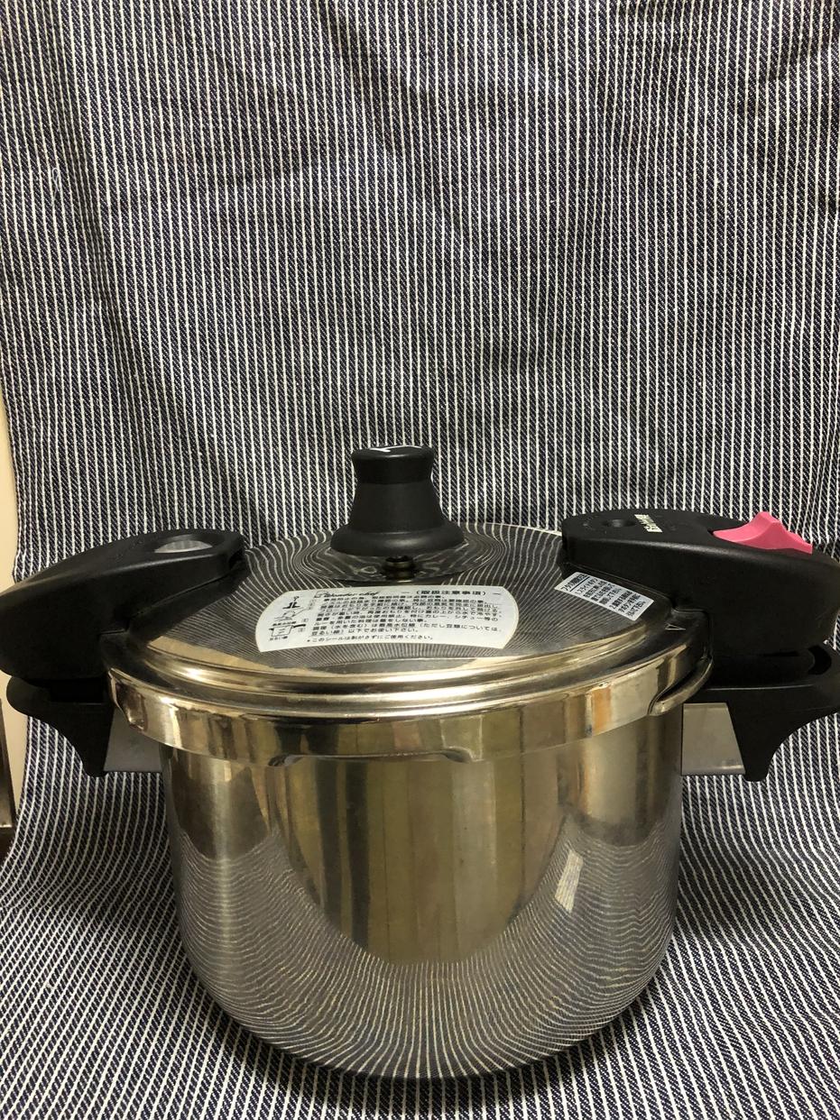 Wonderchef(ワンダーシェフ)あなたと私の圧力魔法鍋 両手圧力鍋 5.5L ZADA55を使ったRUIさんのクチコミ画像1