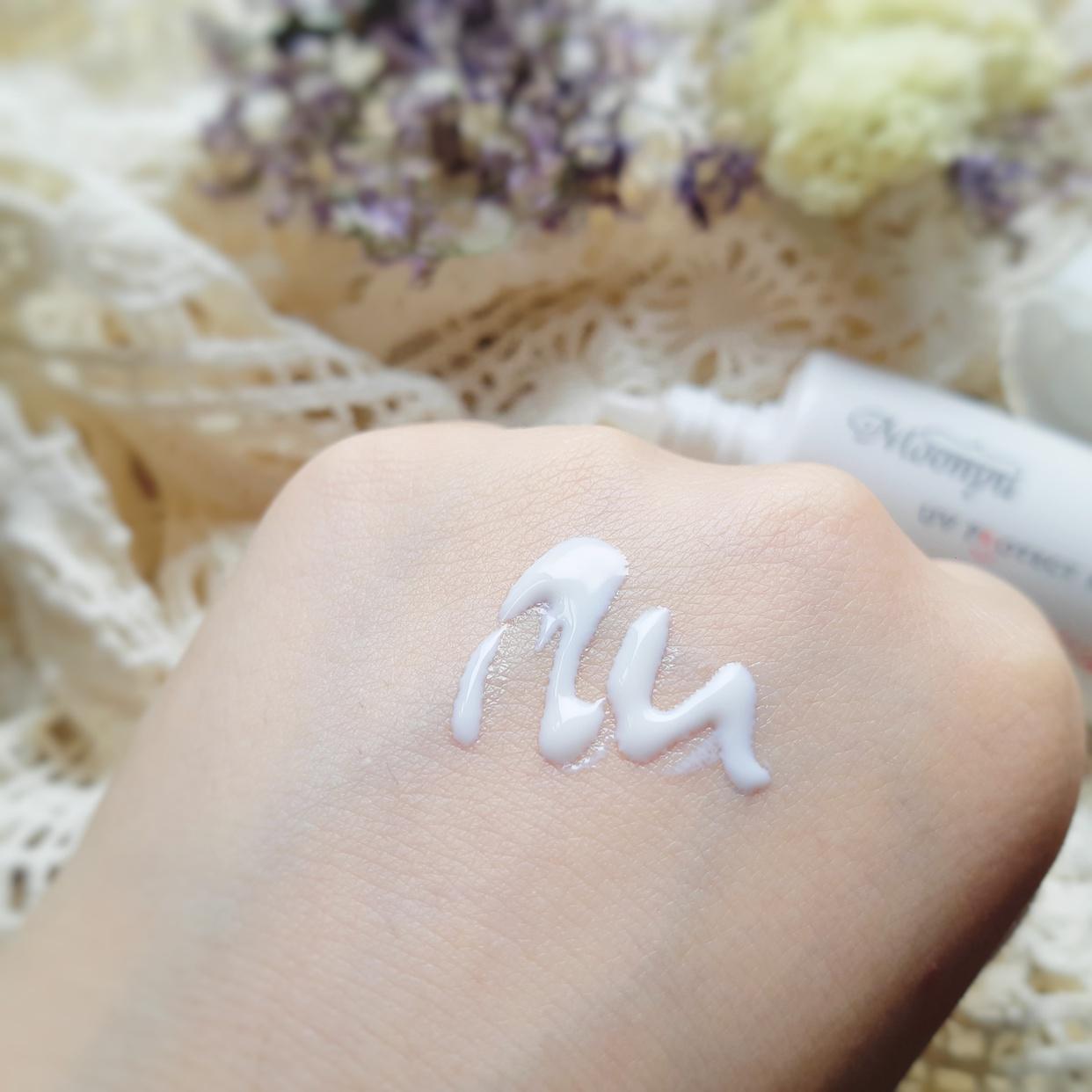 Moonyu(モーニュ) UV プロテクト ミルクを使った銀麦さんのクチコミ画像2