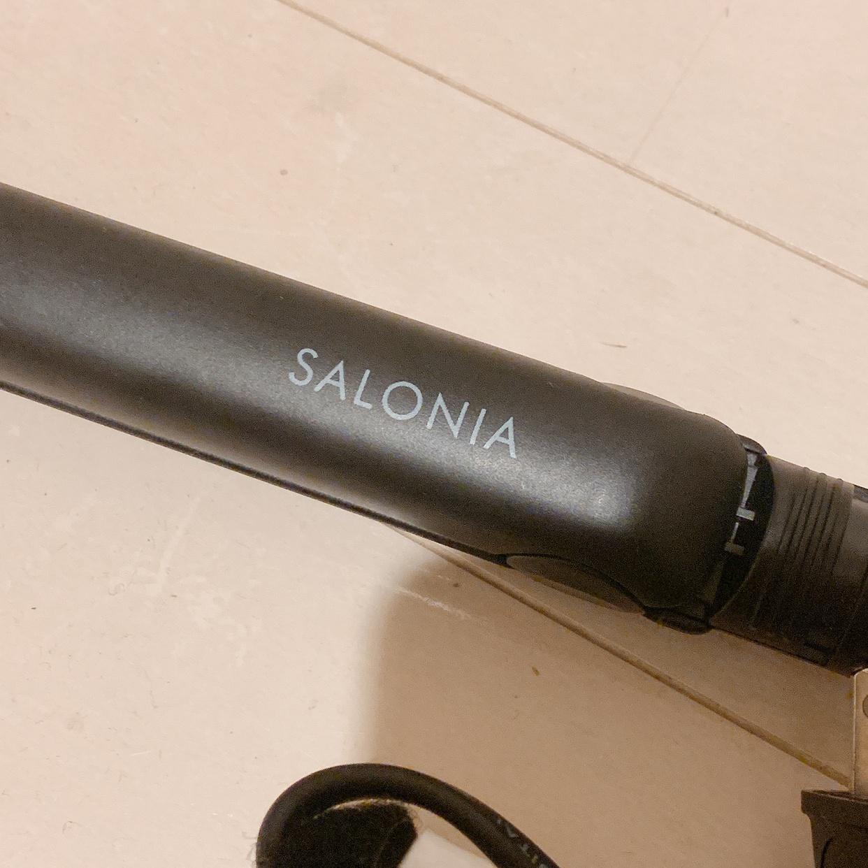 SALONIA(サロニア)ストレートヘアアイロン SL-004Sを使ったひかりさんのクチコミ画像1