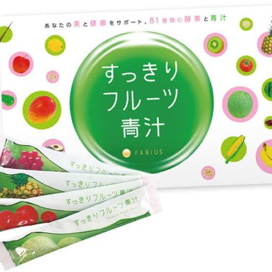 FABIUS(ファビウス) すっきりフルーツ青汁の良い点・メリットに関する【my my】さんの口コミ画像1