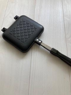 IRIS OHYAMA(アイリスオーヤマ)具だくさんホットサンドメーカー シングル GHS-Sを使ったakira80さんのクチコミ画像1