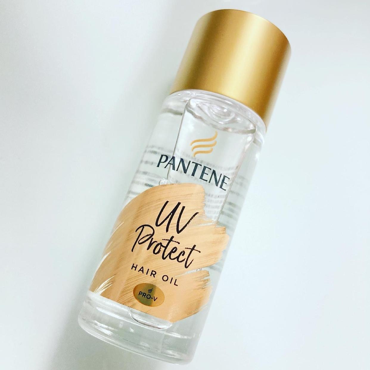 PANTENE(パンテーン)UVカット ヘアオイルを使ったmemiさんのクチコミ画像