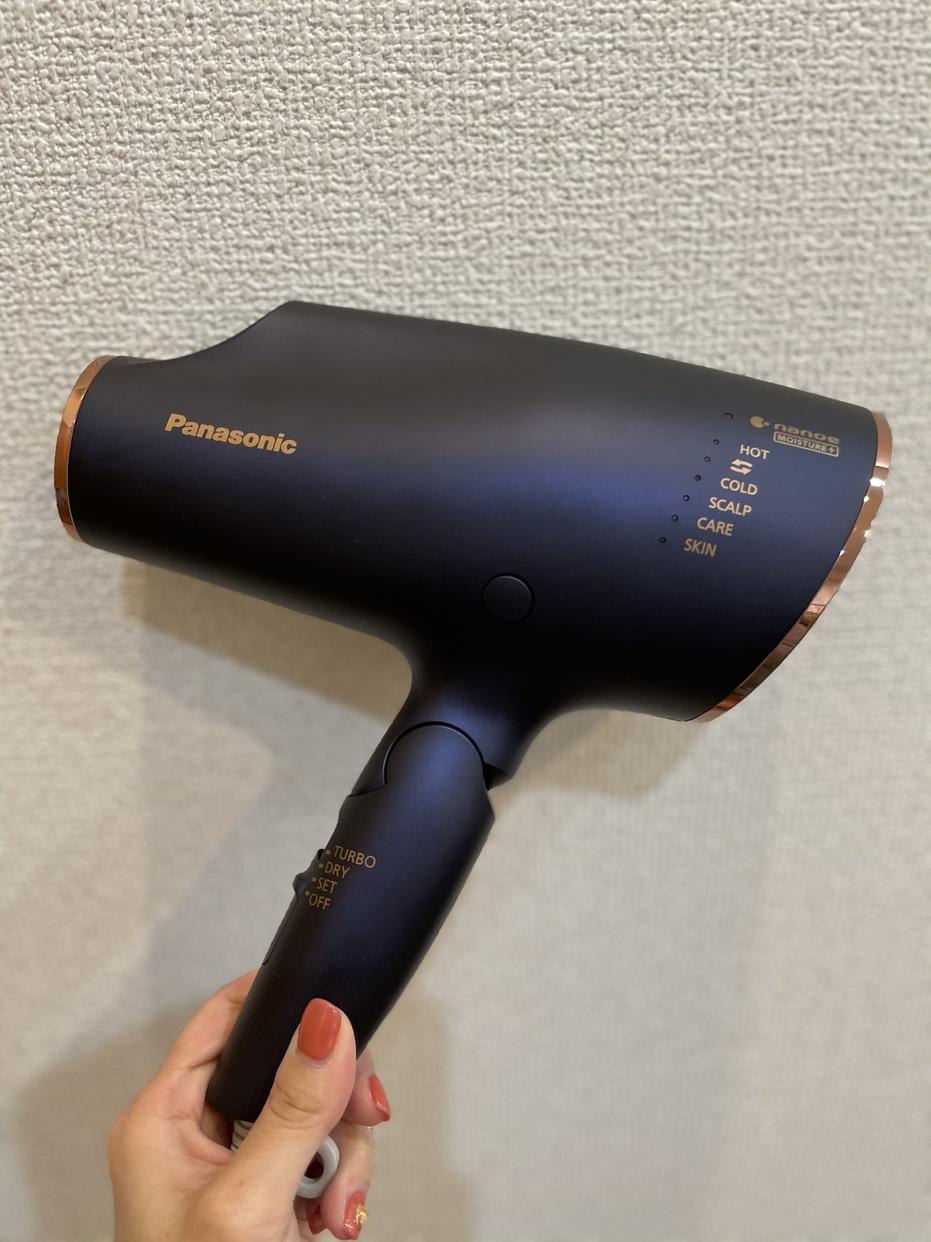 Panasonic(パナソニック) ヘアードライヤー ナノケア EH-CNA0Eを使ったchaaki.fさんのクチコミ画像1