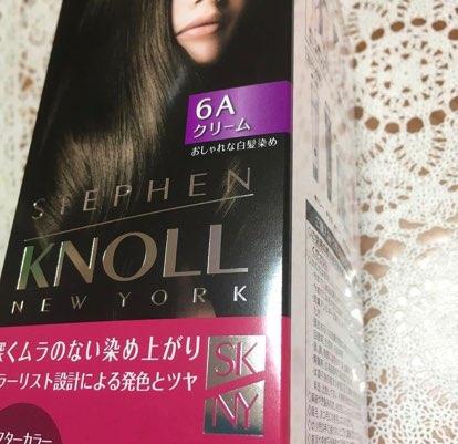 STEPHEN KNOLL(スティーブンノル)カラークチュール クリームヘアカラーを使った松本 久美さんのクチコミ画像1