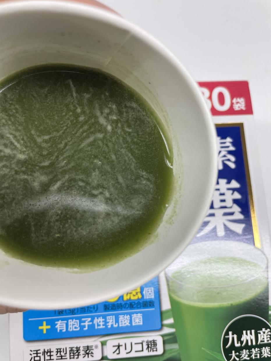 Asahi(アサヒグループショクヒン)乳酸菌+酵素 大麦若葉を使ったかわいげんきさんのクチコミ画像7