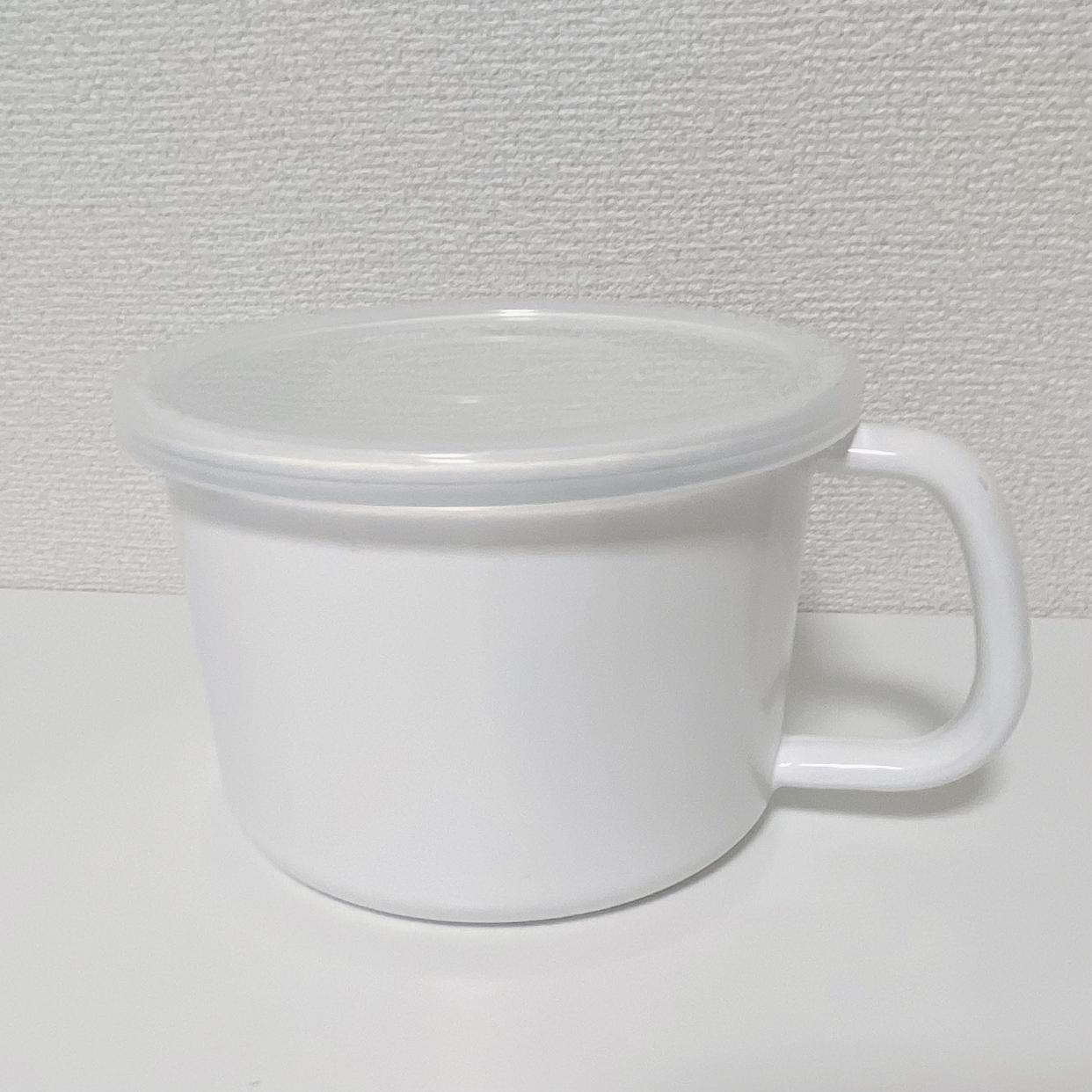 White Series(ホワイトシリーズ) 持ち手付ストッカー丸型を使ったひらゆさんのクチコミ画像1
