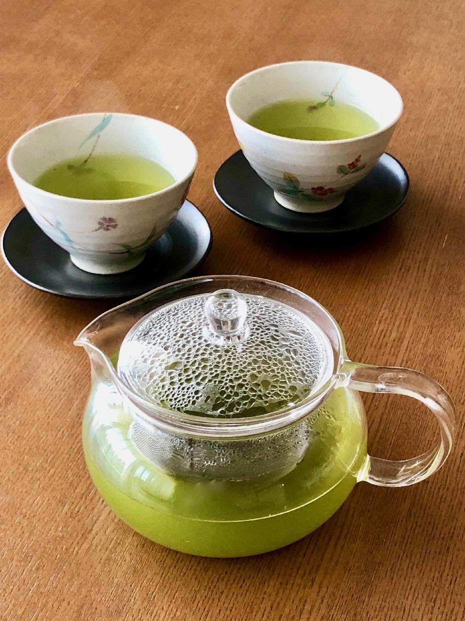 HARIO(ハリオ)茶茶急須 丸 CHJMN-45T クリアを使ったHarmonieさんのクチコミ画像1