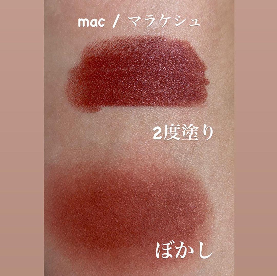 M・A・C(マック) リップスティックの良い点・メリットに関するmakeup_t_r_sさんの口コミ画像2