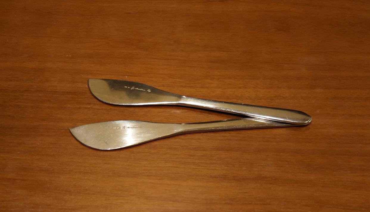 柳宗理(SORI YANAGI)バターナイフ #1250を使ったさくらさくさんのクチコミ画像1