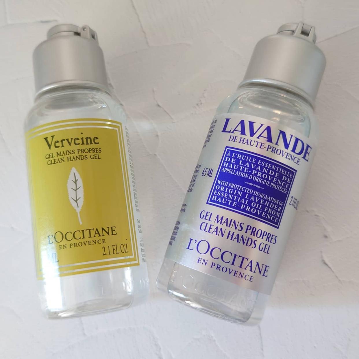 L'OCCITANE(ロクシタン)ヴァーベナ クリーンハンドジェルを使ったSallyさんのクチコミ画像