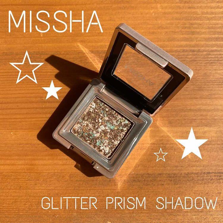 MISSHA(ミシャ)グリッタープリズム シャドウを使った りえさんの口コミ画像1