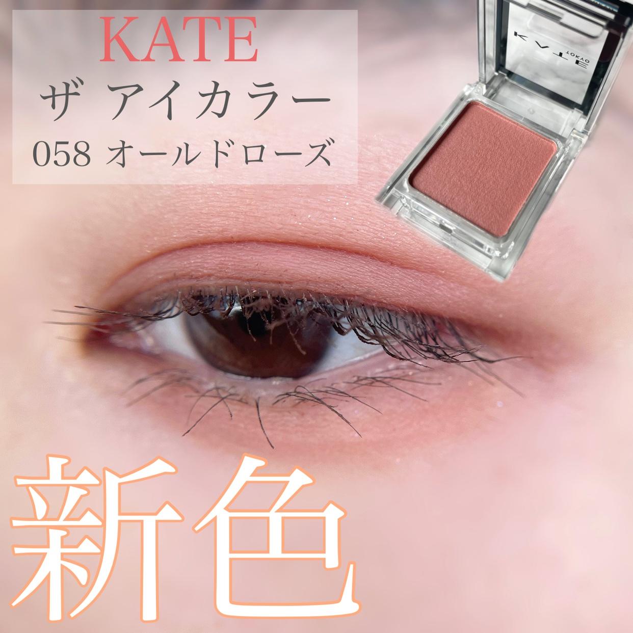 KATE(ケイト) ザ アイカラーを使ったあひるさんのクチコミ画像1