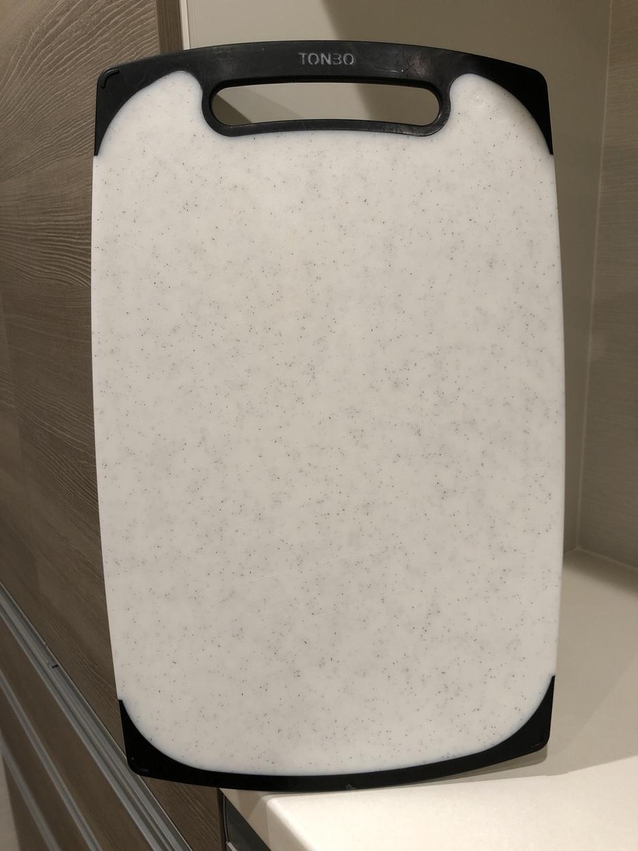TONBO(トンボ)耐熱 抗菌 まな板 ラバー付きを使ったグレープさんのクチコミ画像1