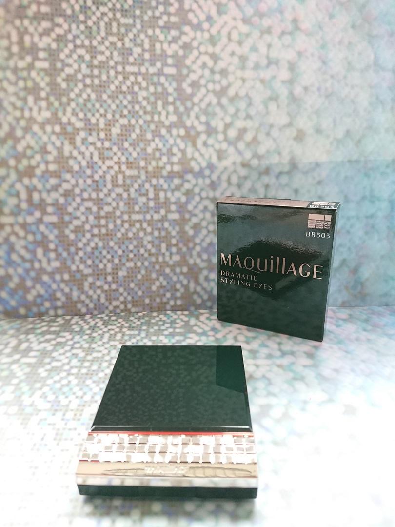 MAQuillAGE(マキアージュ) ドラマティックスタイリングアイズを使ったbubuさんのクチコミ画像1