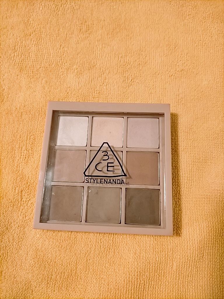 3CE(スリーシーイー) ムードレシピ マルチアイカラーパレットを使ったRuruさんのクチコミ画像1