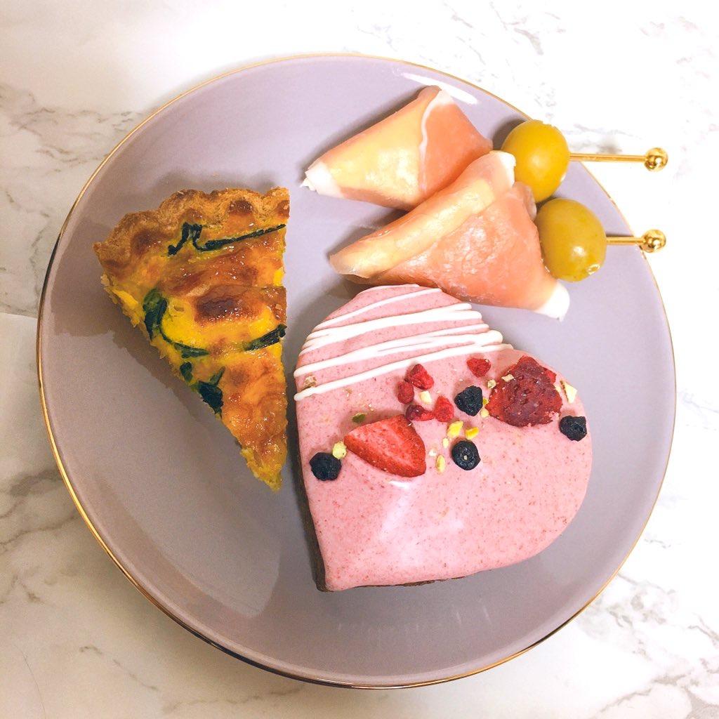 Francfranc(フランフラン)おうちカフェセット 2 personsを使ったりもこんさんのクチコミ画像3